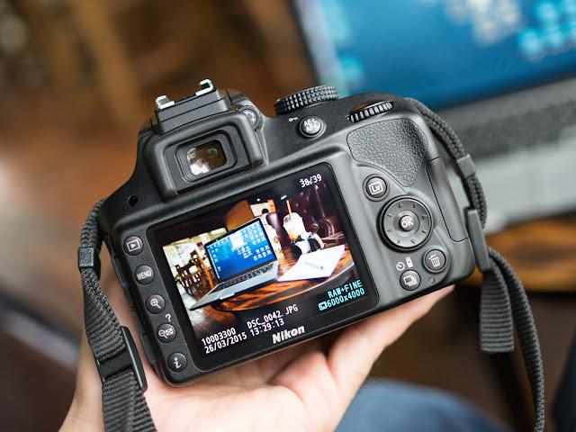 Nikon D3300 Hand on