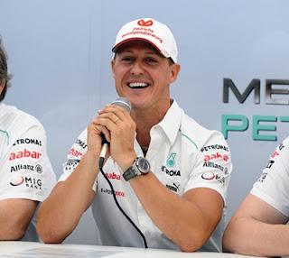 Michael Schumacher Umumkan Persaraan Kali Kedua