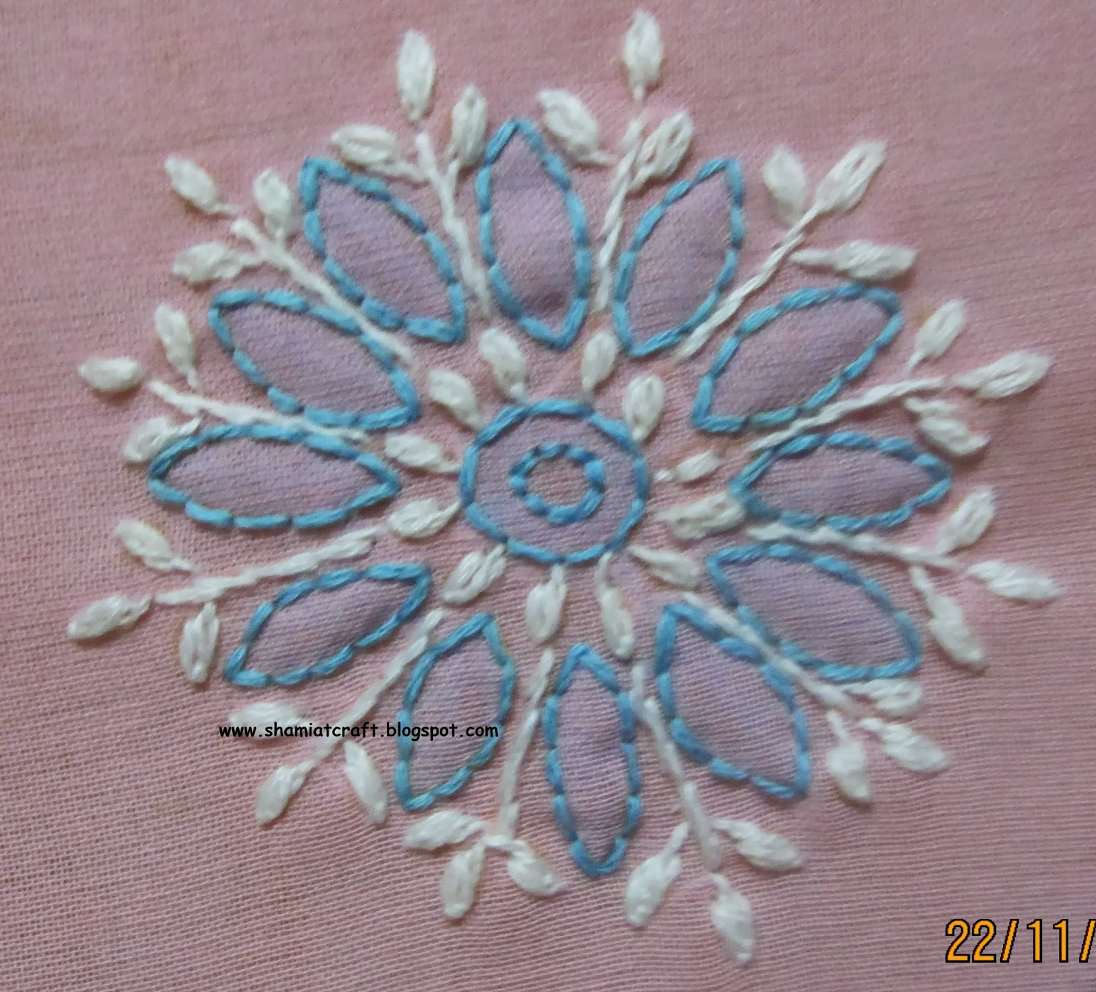 My Craft Works Chikankari Motifs