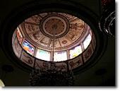 הכיפה בבית הכנסת הטוניסאי