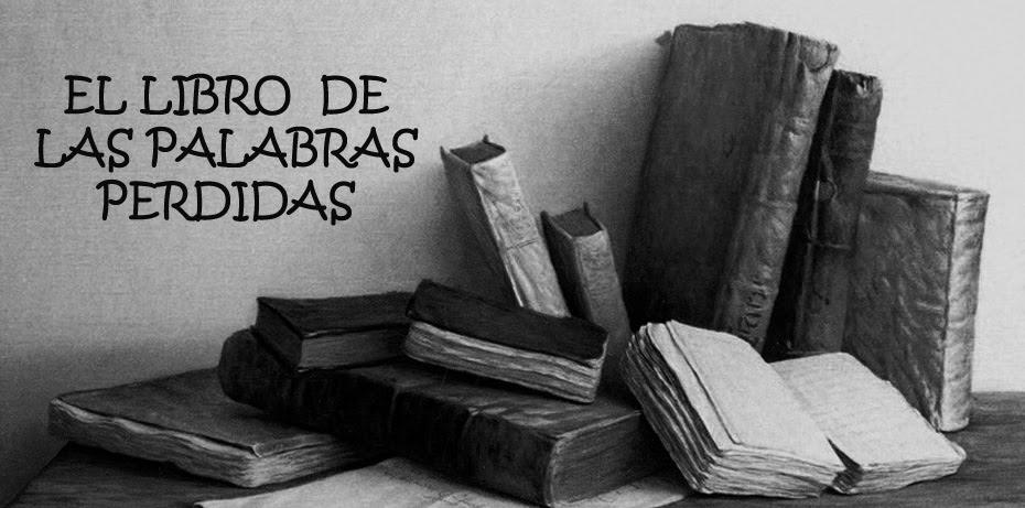 EL LIBRO DE LAS PALABRAS PERDIDAS