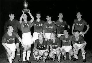 La Unión soviética venció la Eurocopa de 1960