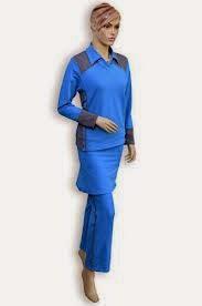 Contoh Baju Muslim Senam Masa Kini