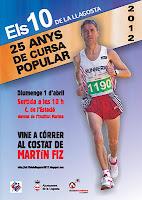 Accés a la pàgina de la cursa 2012