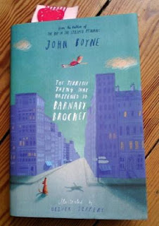Cover for The Terrible Thing That Happened To Barnaby Brocket by John Boyne