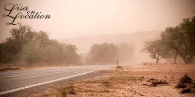 Utah sandstorm, New Braunfels photography