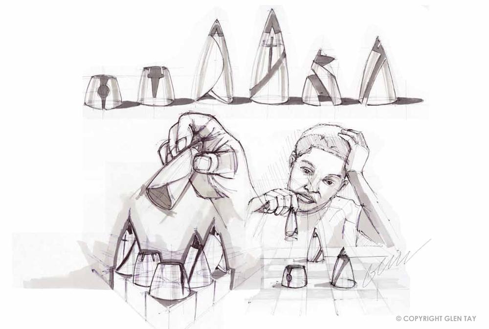 Industrial Design In Victoria Australia Sketching Chess