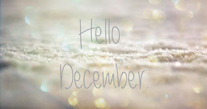 Hello December   Blogmas Day 1!