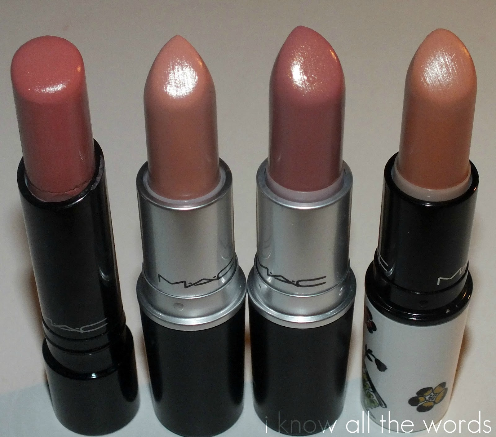 Review: MAC Modesty Lipstick   I Know all the Words