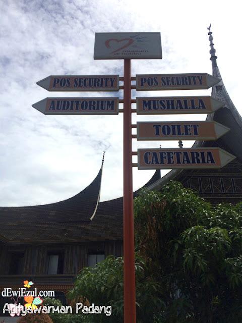 Taman melati=Museum Adityawarman Padang Sumbar