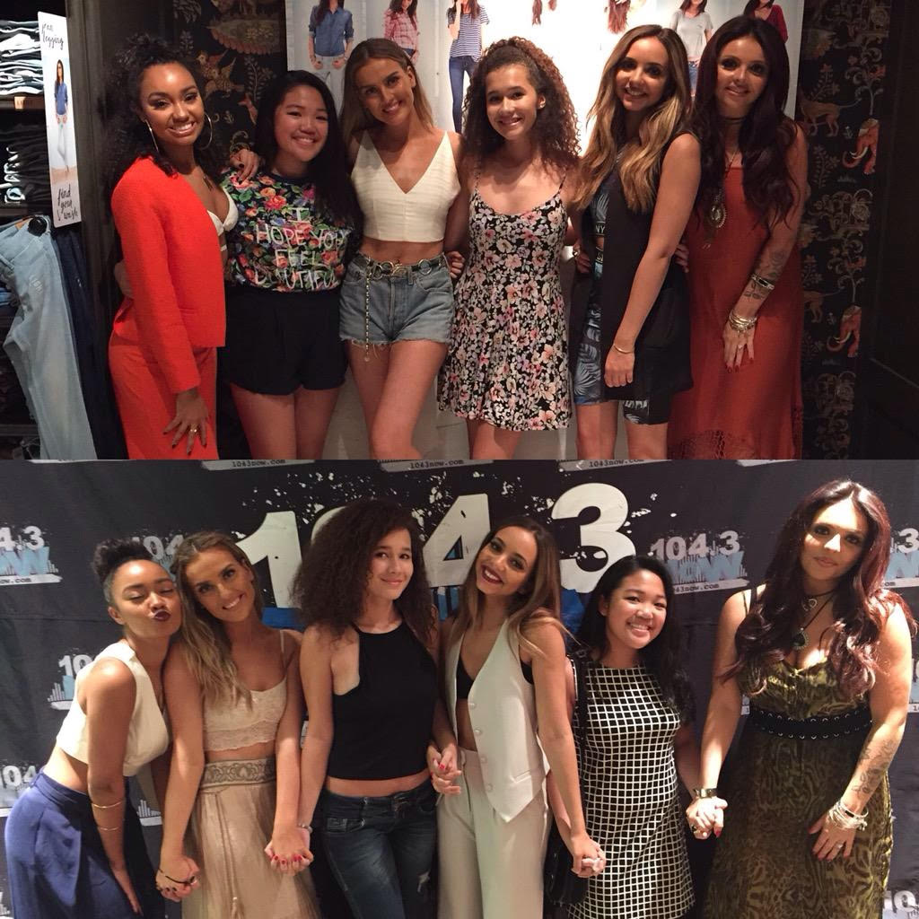 Meeting Little Mix Ootd
