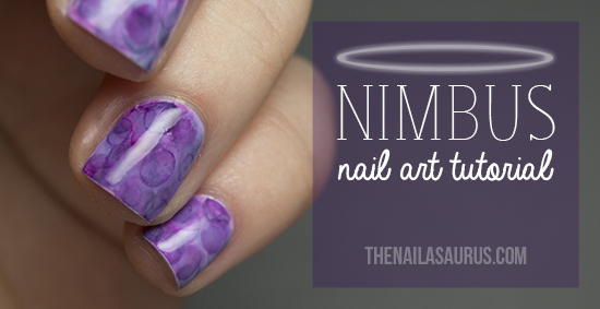 Nimbus Nail Art Tutorial by The Nailasaurus