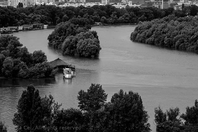 Belgrado confluenza Sava Danubio