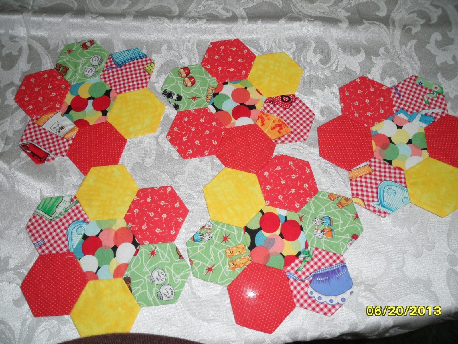 hexagon quilt template plastic - in sewtopia the hexagon english paper piecing plastic