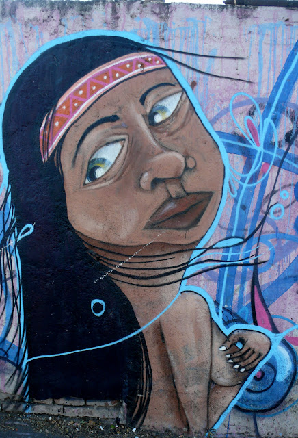 street art santiago de chile barrio yungay graffiti arte callejero