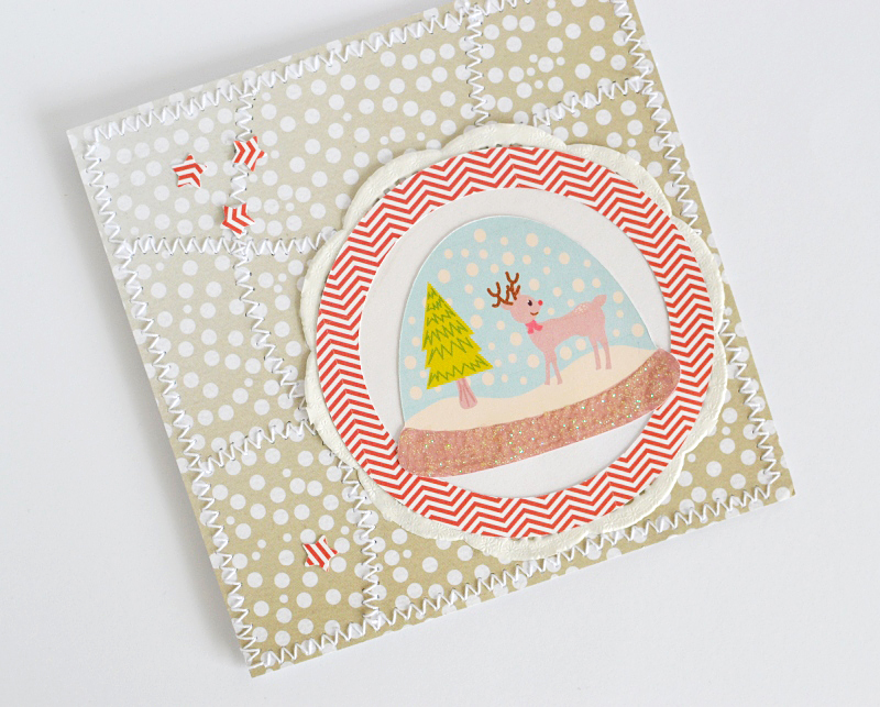 Anniko snowy Christmas card