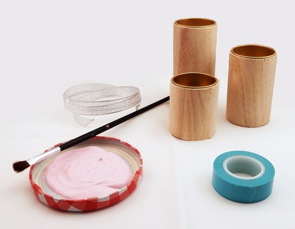 DIY : Trio de bougeoirs (Saint Valentin)