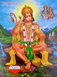 Hanuman - Owner of Ashta Siddhi and Nav Nidhi