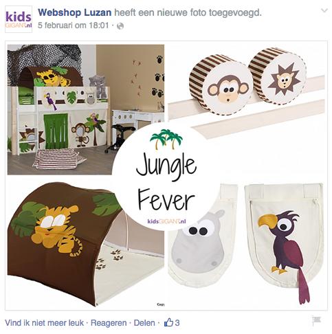 Junglebedden