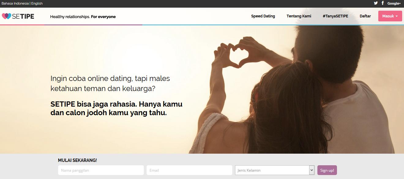 Setipe online dating