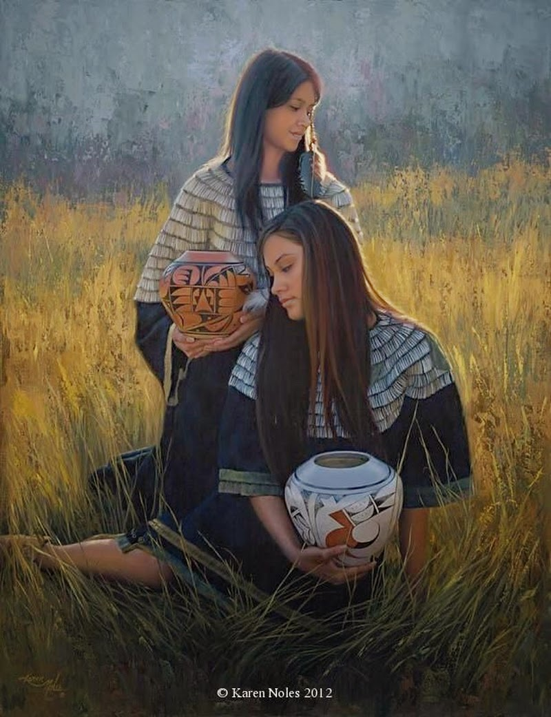 Available western and native american painter karen noles dance the hallmark card company as a greeting card illustrator and she continued to work in illustration for hallmark and other companies for nearly 20 years kristyandbryce Choice Image
