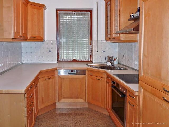Ausstellungsküche ändern, Küche ändern, Küche umbauen, Küche anpassen