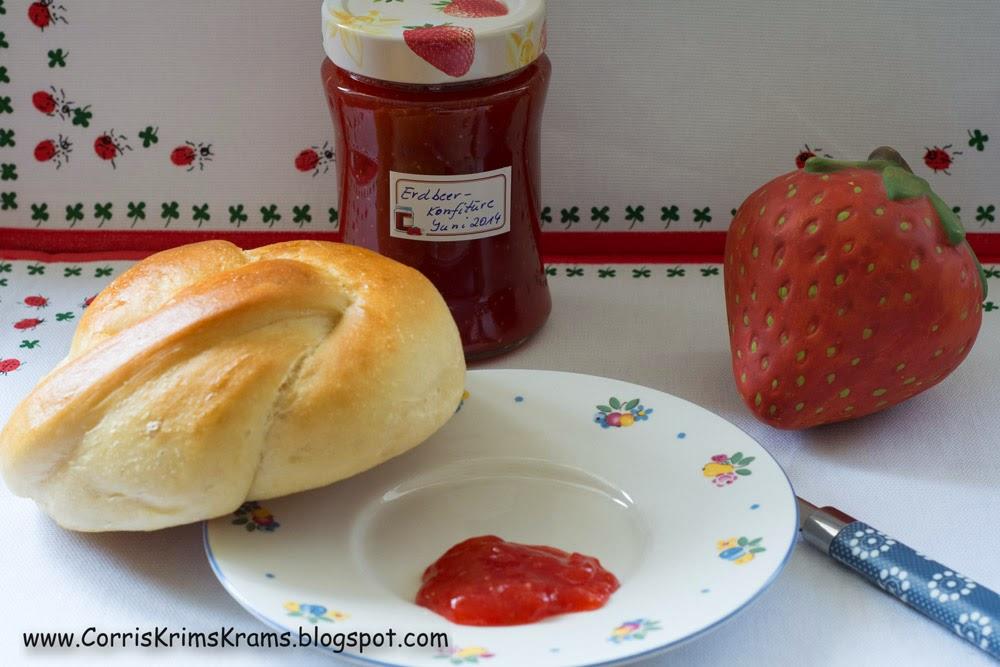 Erdbeeren, Vanille, Marmelade, Konfitüre