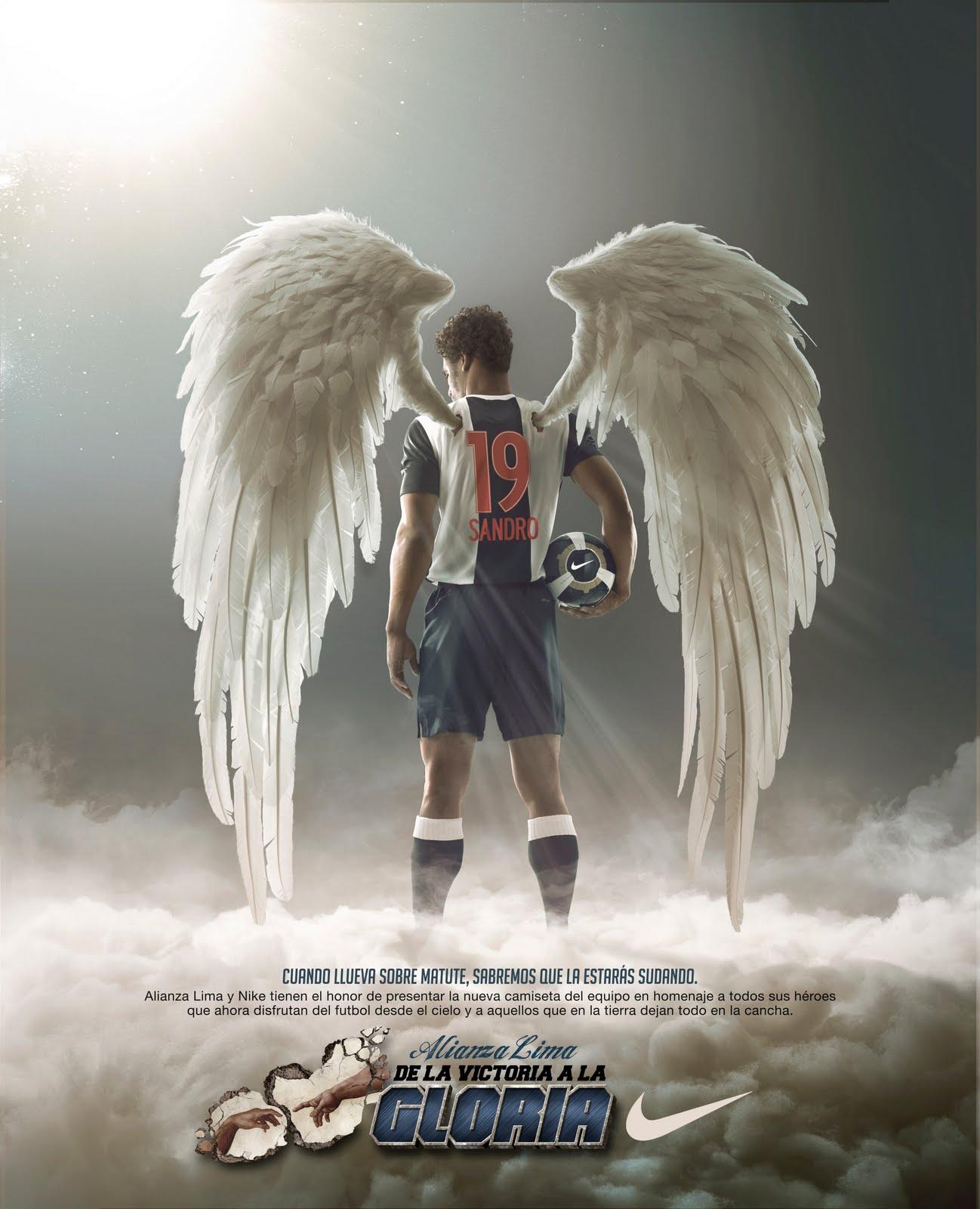 Homenaje A Las Grandes Estrellas De Alianza Lima En Publicidad De Nike