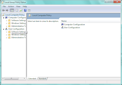 Local Group Policy Editor in Windows XP/7/8