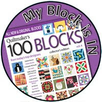 I'm in Quiltmaker's 100 Blocks!