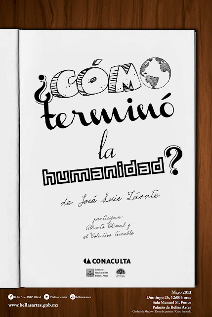 """Presentación del libro """"¿Cómo terminó la humanidad?"""" de José Luis Zárate"""