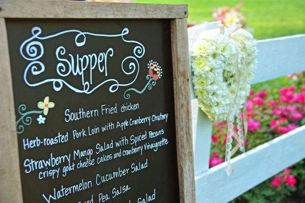 southern wedding reception food - Wedding Decor Ideas