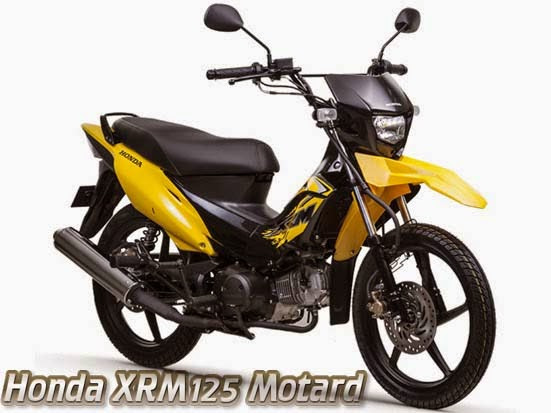 Honda XRM125 Motard Clipper Yellow