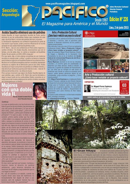 Revista Pacífico Nº 226 Arqueología