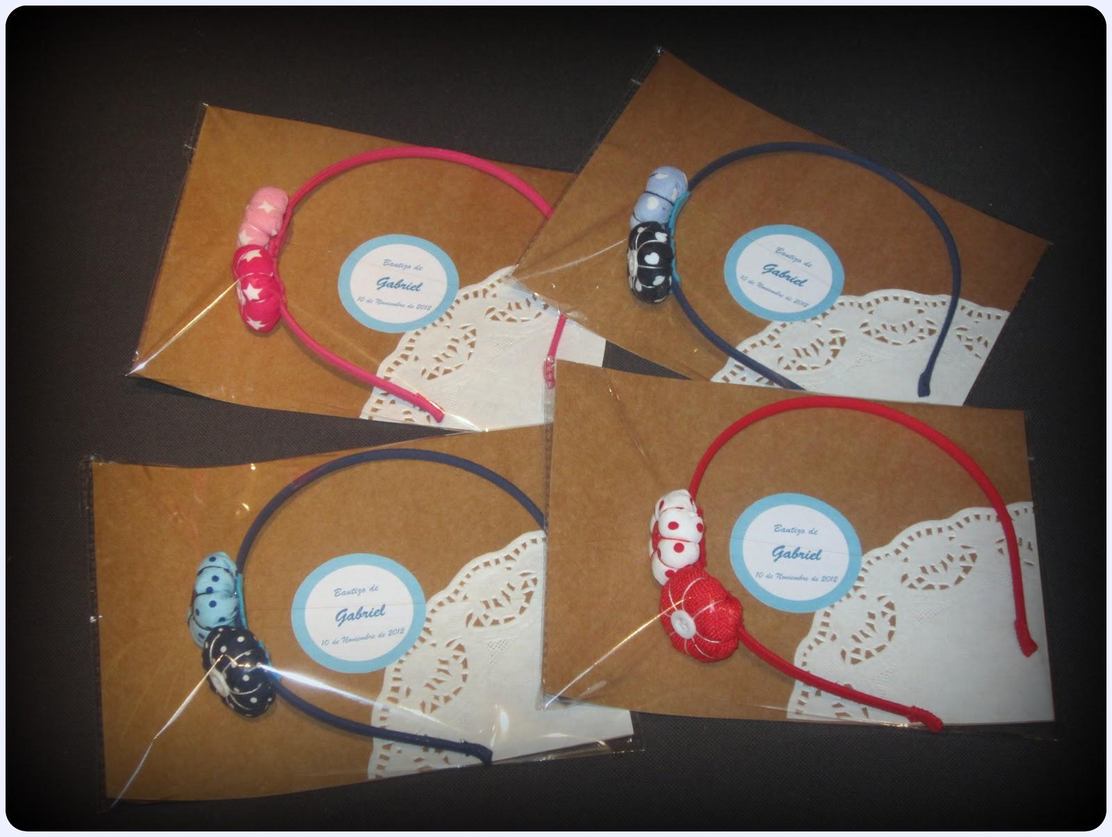 Diademas con flores de tela - Empaquetado - ChikiPol