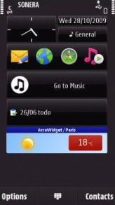 Nokia Weather Widget update for Symbian Belle ( 08.05.2012)