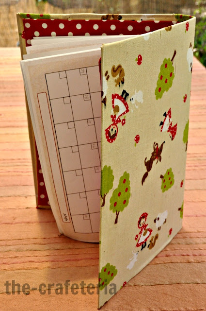 Fabric Covered Binder Tutorial