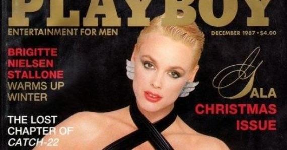 Nielsen playboy brigitte Playboy Magazine,