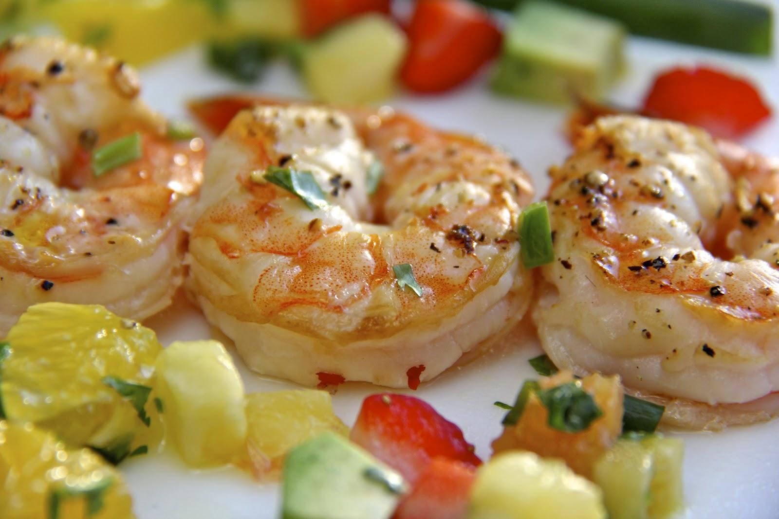 Broiled Coconut Shrimp | The Café Sucre Farine
