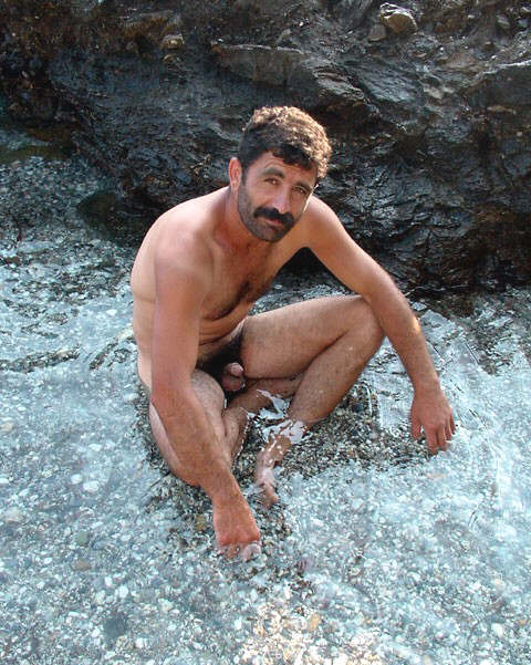 Mature naked turkish men