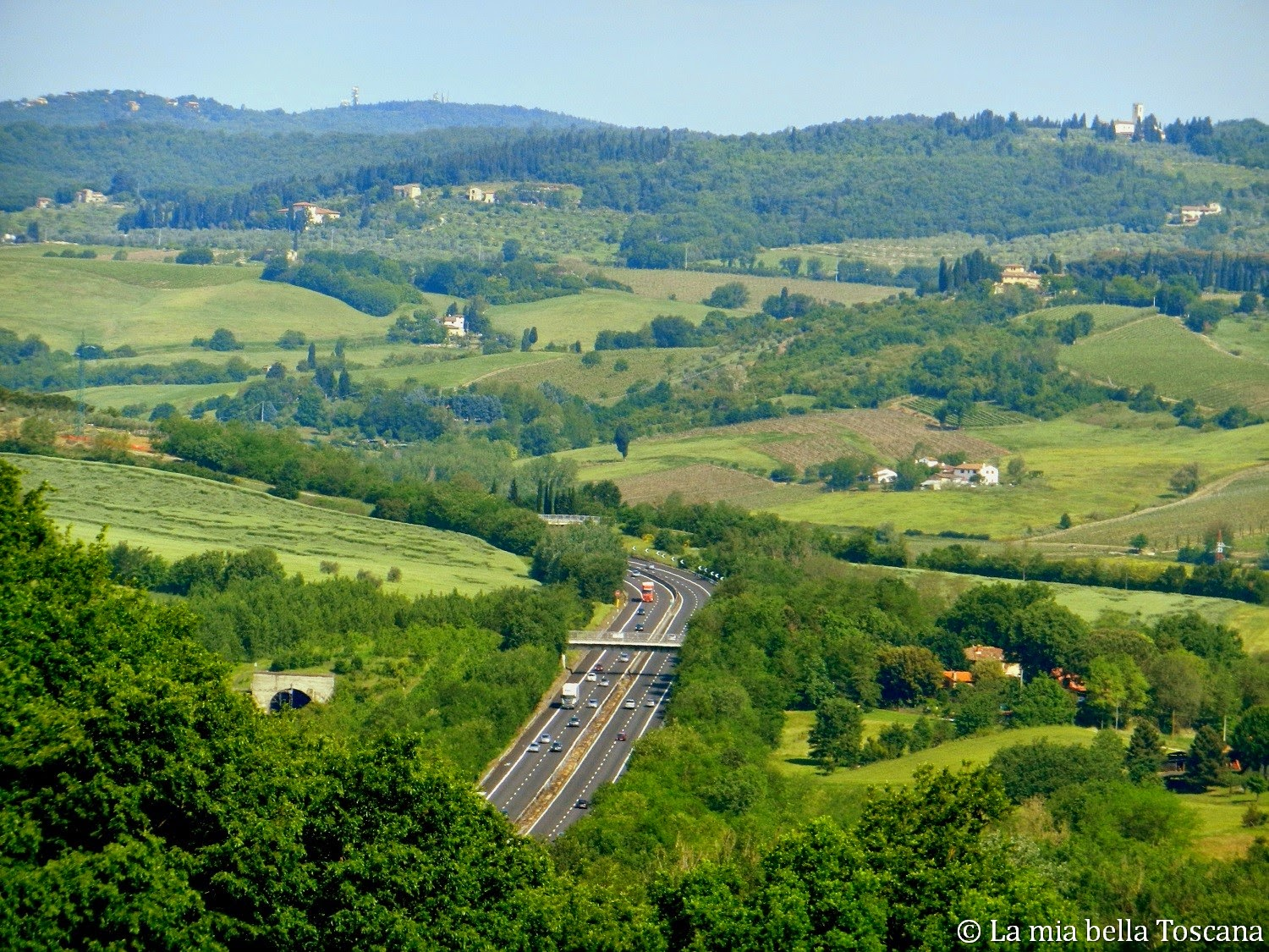 The gateway to the heart of Tuscany