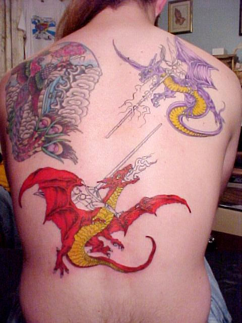 aboutsex dragon tattoo arm. Black Bedroom Furniture Sets. Home Design Ideas