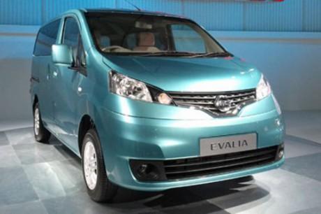 Warna Mobil Nissan Evalia