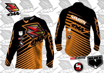 Jual Jersey Baju Pakaian Celana Sepeda, Motocross, Trail...dll - RMA Ride More Asia Jersey Sample 9