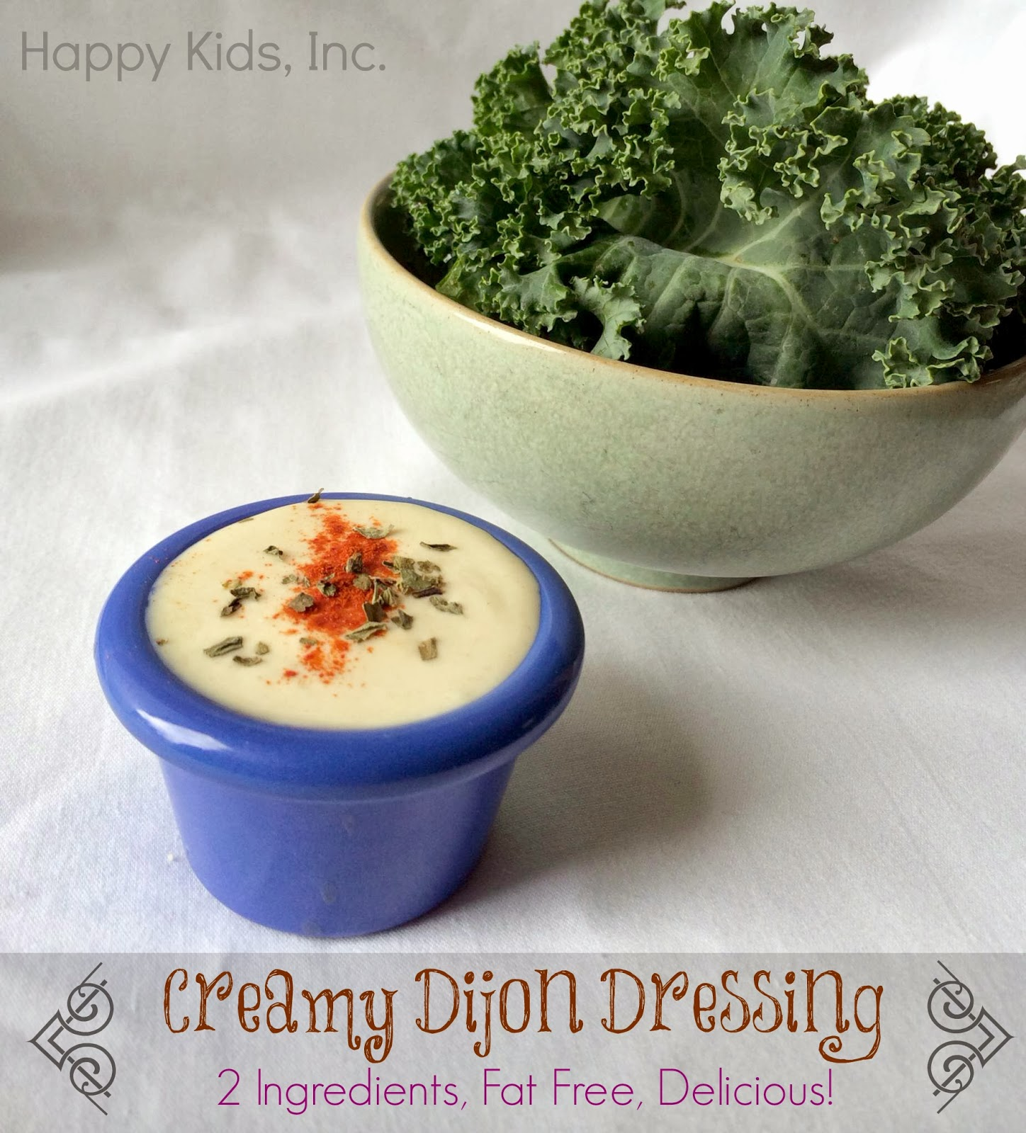 Easy Recipe Creamy Dijon Mustard Dressing Recipe greek yogurt fat free mom blogger