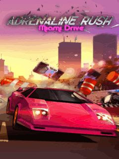 Screenshots of the Adrenaline Rush: Miami Drive for java mobile, phone.