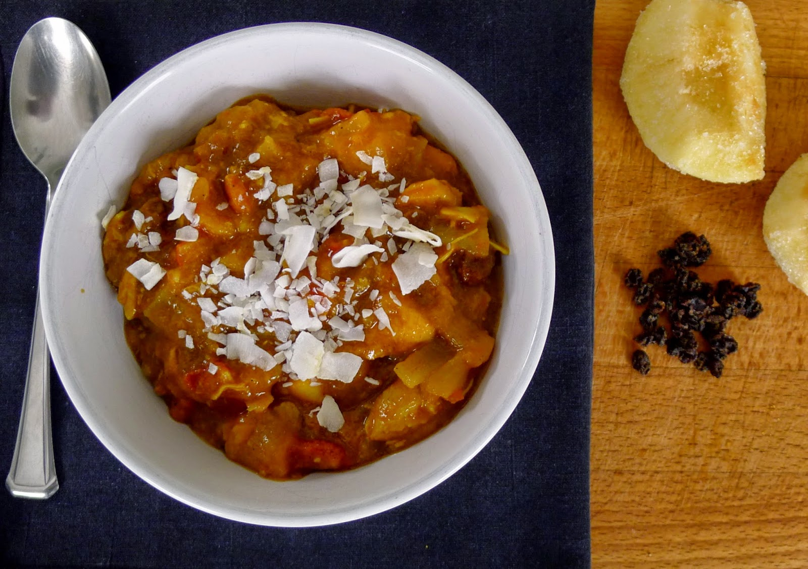Chicken and Fruit Curry Recipe