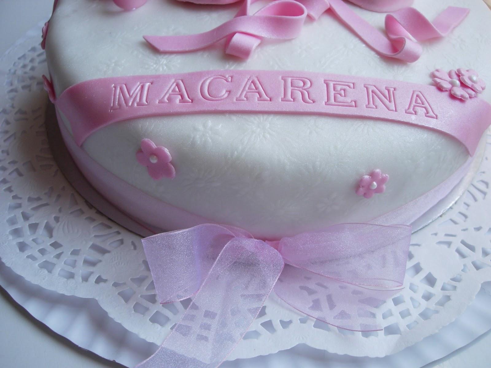 Pink artesanas galletas y tartas decoradas cumplea 241 os de macarena
