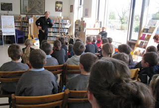 Tony Maude in Scariff for Children's Book Festival 2011