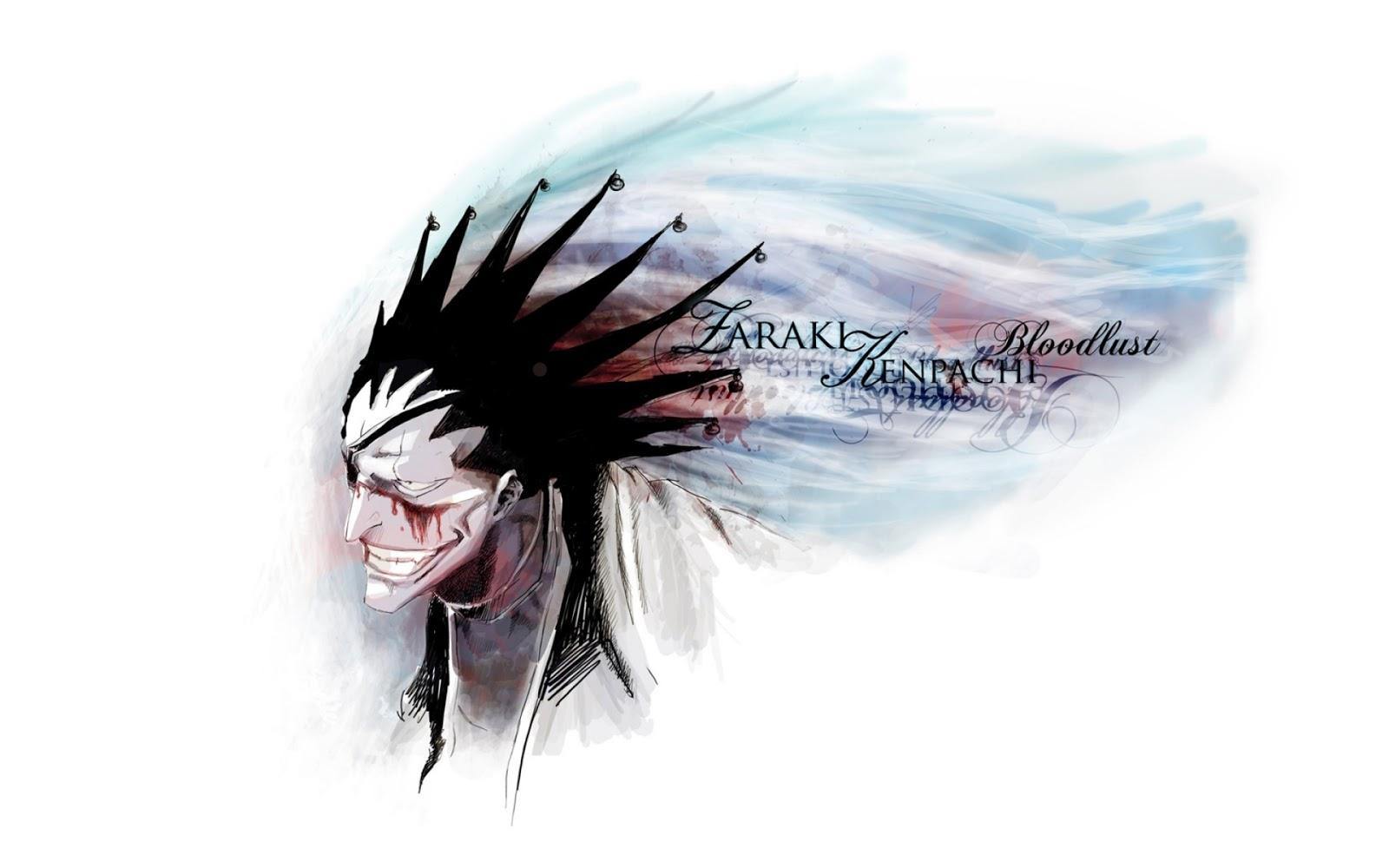 Bleach Zakari Kenpachi